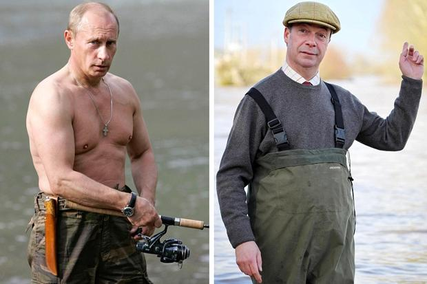 "Nigel i Vladimir, © ""The Times"""