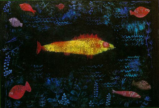 https://commons.wikimedia.org/wiki/File:Paul_Klee,_Der_Goldfisch.jpg