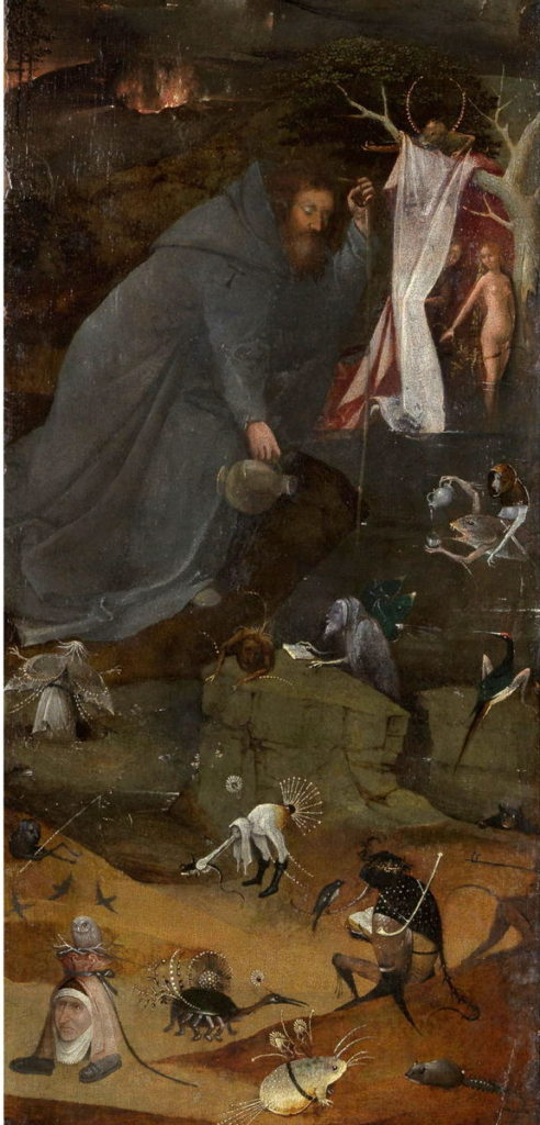 Hieronymus Bosch, The Hermit Saint Anthony