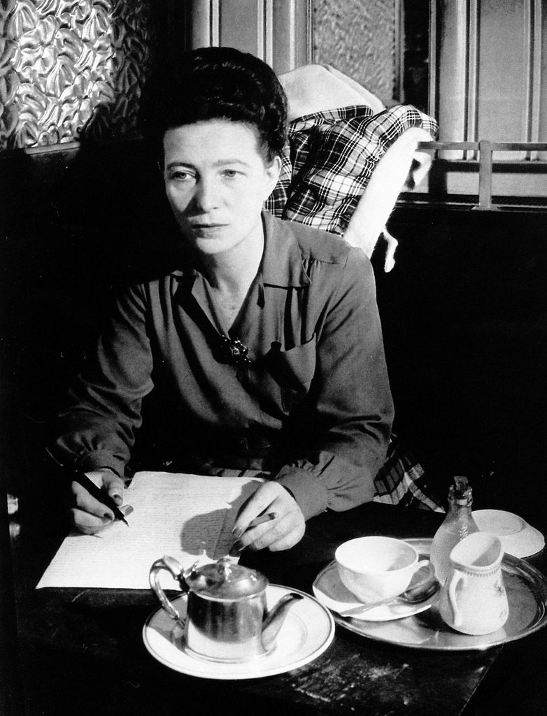 Simone de Beauvoir, fot. Flickr https://www.flickr.com/photos/53035820@N02/6878734707